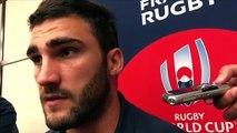 Rugby - Coupe du monde XV de France : « Heureux d'être là » (Ollivon)
