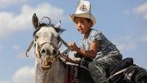 شاهد: ألعاب رياضية وثقافية لبدو قرغيزستان