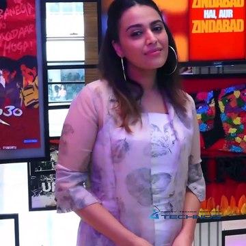Swara Bhaskar, Prakash Jha & Ranvir Shorey & Others At 'WWI Celebrate Cinema 2019'.