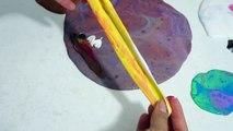 Dev Slime vs Dev Çöplük Slime Challenge Eğlenceli Çocuk su Çöp Çöplük Slaym Bidünya Oyuncak