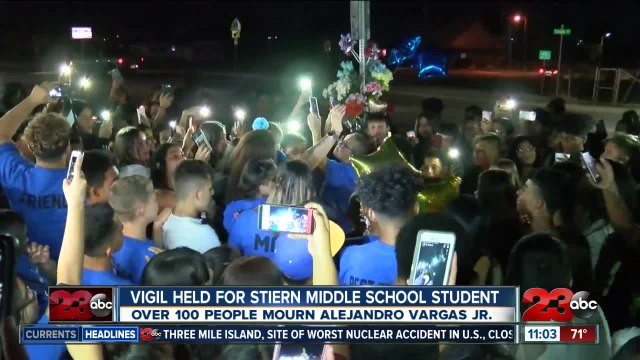 Vigil held for east Bakersfield teen