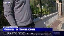 Féminicide dans les Yvelines: un voisin a assisté à la scène et témoigne