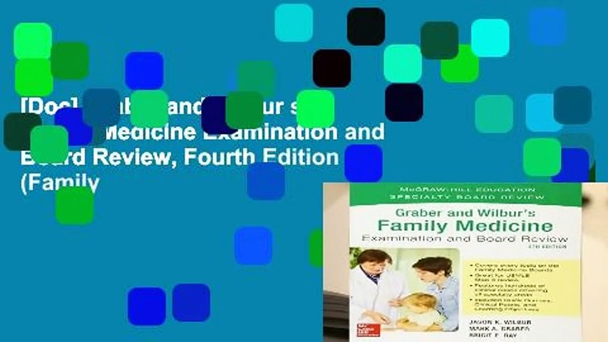 [Doc] Graber and Wilbur s Family Medicine Examination and Board Review, Fourth Edition (Family