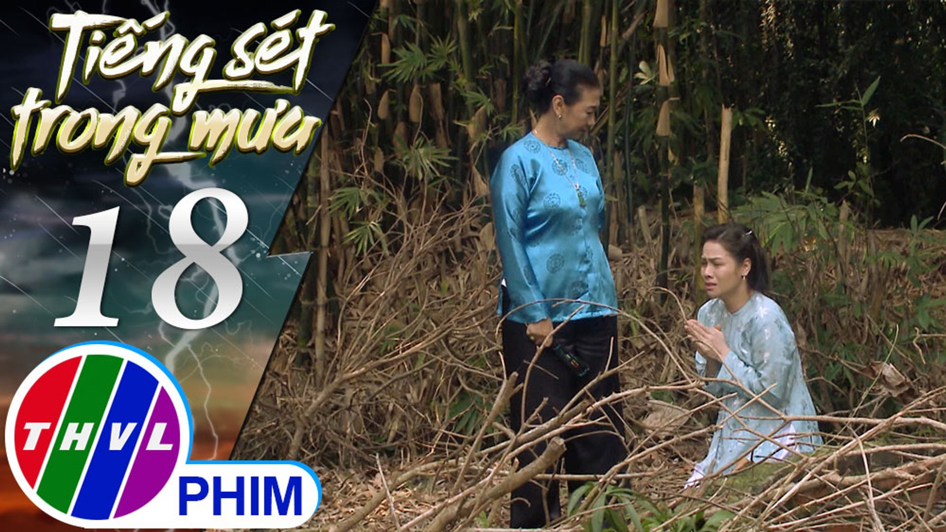 THVL | Tiếng sét trong mưa - Tập 18[5]: Bà Hội hăm dọa vì cho rằng Bình đang ảo tưởng được làm mợ ba