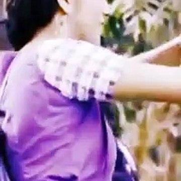 tamil serial actress hot saree tik tok dancing