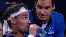 Laver Cup 2019 - Rafael Nadal and Roger Federer, the luxury coaches of Fabio Fognini