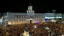 Feminist protest in Madrid draws attention to domestic violence