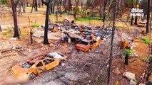 कैलिफोर्निया के जंगलों की आग बेघर हुए लोगों के लिए रेसिडेंशियल वैन बनाई, 100 ऑर्डर मिले
