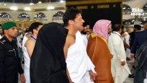 अमेरिका जाने से पहले मक्का में इमरान खान ने किया उमरा