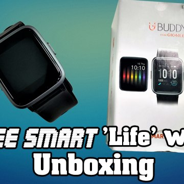 Gionee Smart 'Life' Watch Unboxing, Setup And Features: Better Than Honor And Xiaomi Smart Bands?