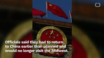 China Cancels Plans To Visit Midwest States - DONALD TRUMP