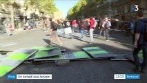 Paris : un samedi sous tension, avec de nombreuses manifestations