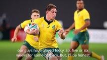Rugby World Cup: Australia 39-21 Fiji