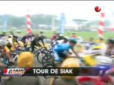 Tour de Siak Terpaksa Dihentikan Akibat Polusi Asap