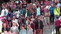 450 personnes marchent pour le climat à Saint-Etienne