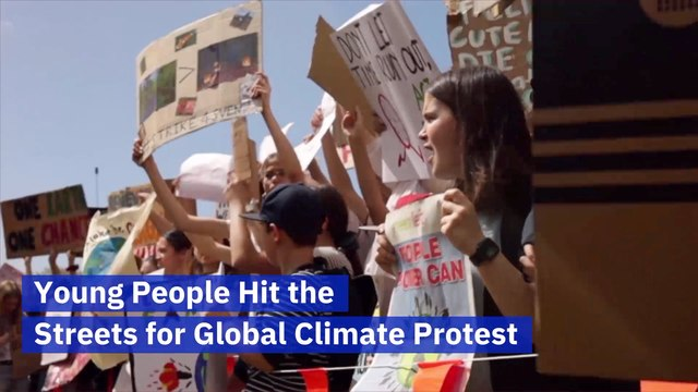 A Global Climate Protest Is Happening