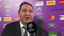 Steve Hansen interview after New Zealand defeat South Africa