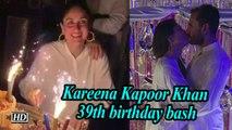 Kareena Kapoor Khan 39th birthday bash   'Saif-eena' shares intimate kiss