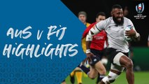 HIGHLIGHTS : Australia vs Fiji - Rugby World Cup 2019