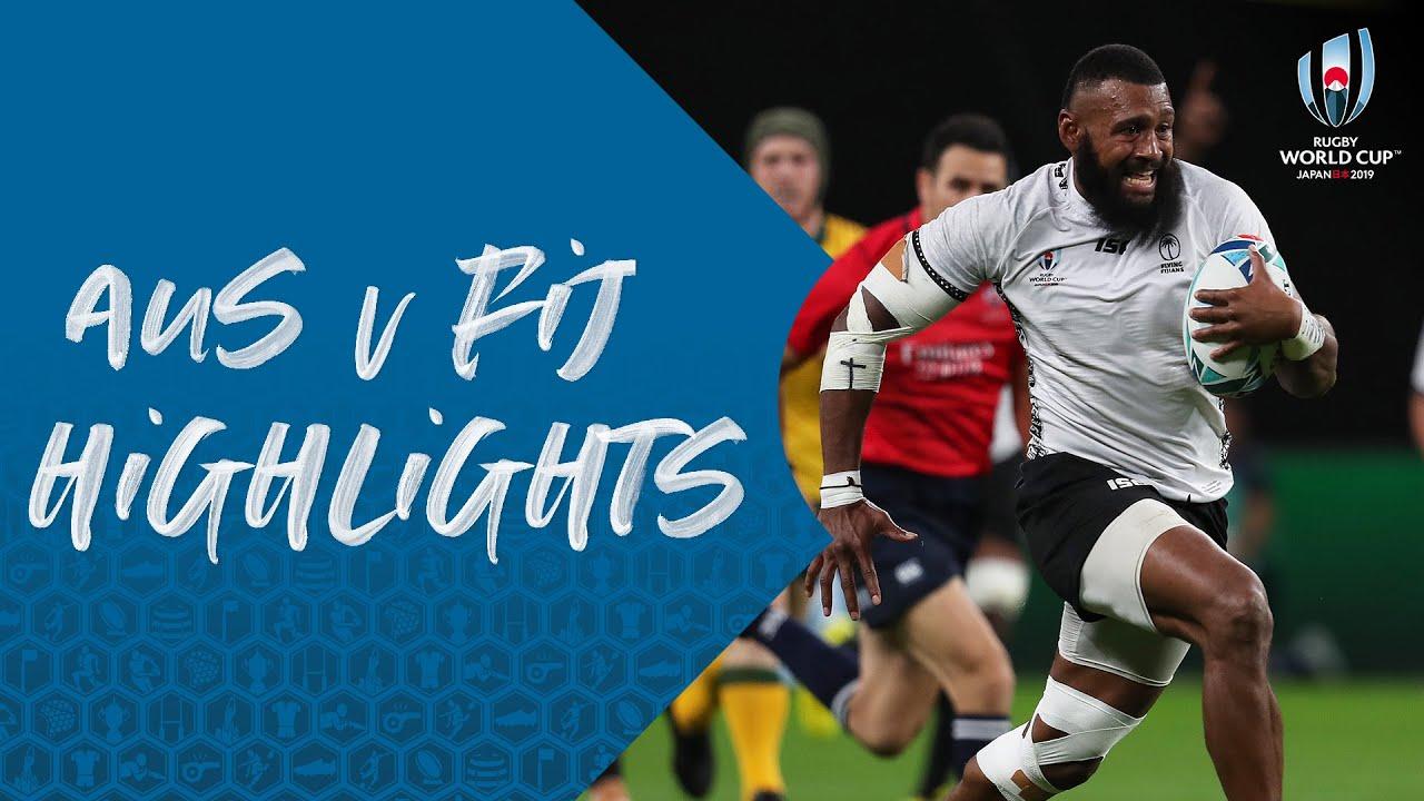 HIGHLIGHTS : Australia vs Fiji – Rugby World Cup 2019