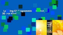 Learning C# Programming with Unity 3D  For Kindle