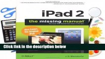 [Read] iPad 2  The Missing Manual (Missing Manuals)  For Kindle