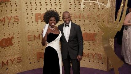 Viola Davis Emmys Red Carpet 2019