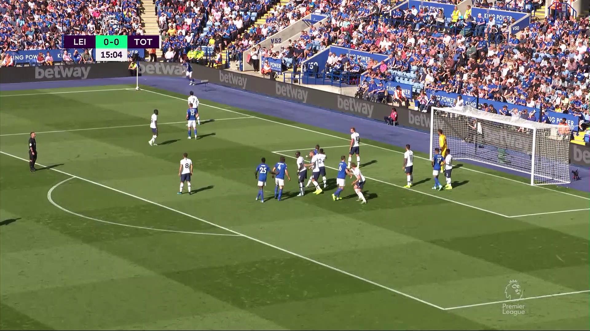 6. Hafta / Leicester City - Tottenham: 2-1 (Özet)