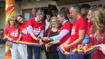 Acto inaugural del 'GayDay' en el Parque de Atracciones de Madrid