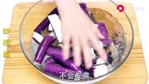 【Eggplant salad】凉拌茄子很多人第一步就错了,学会这个小窍门,完美保留茄子紫色