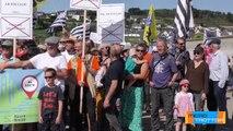 Pique nique solidaire à Telgruc sur mer contre la francisation des lieux dits   © Micro Trottoir 10