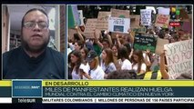 Análisis: Juventud mundial unida en huelga contra el cambio climático