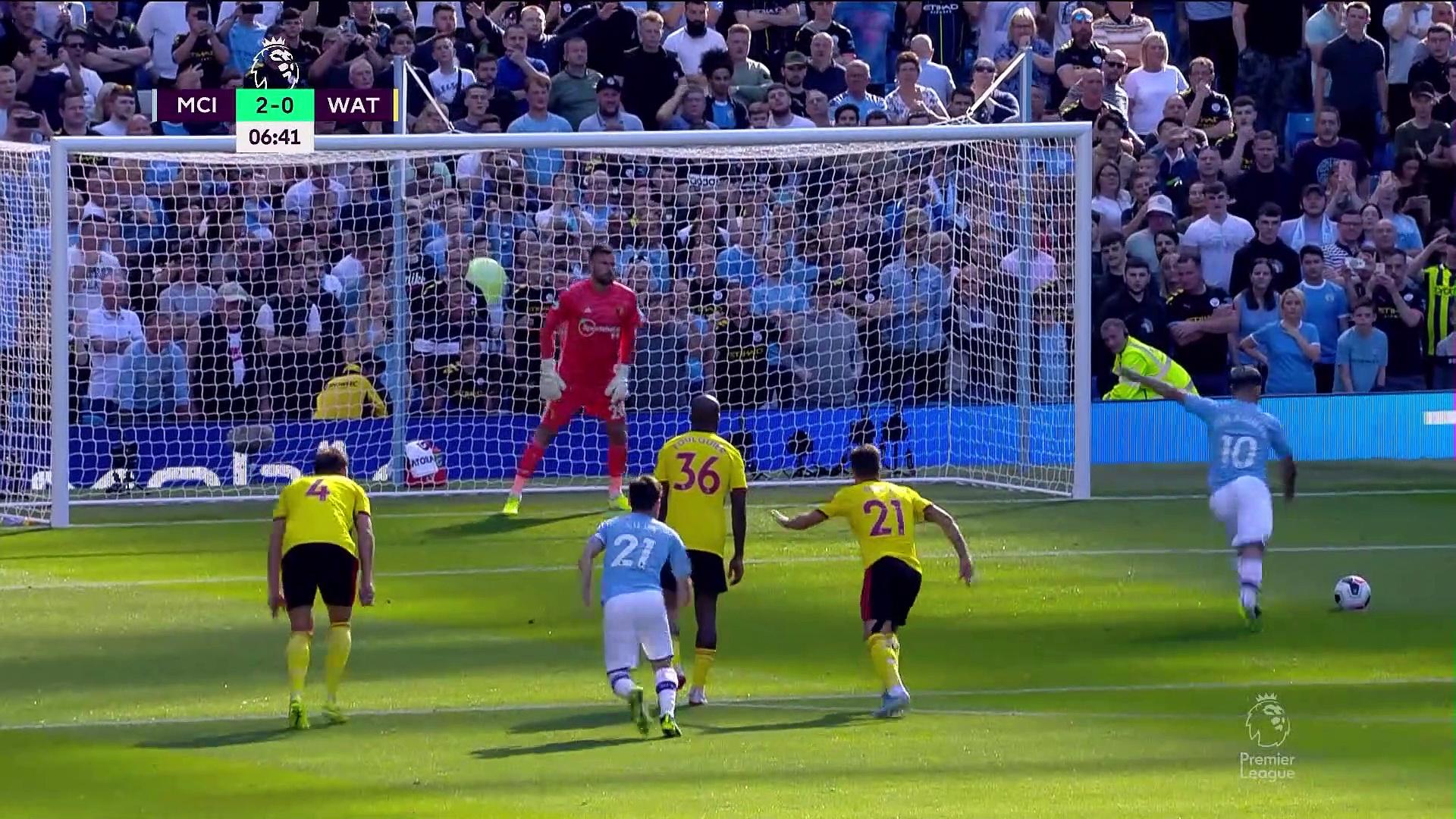 6. Hafta / Manchester City - Watford: 8-0 (Özet)