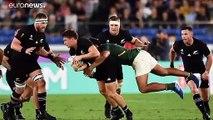Mondial de rugby : All Blacks et Bleus OK, typhon en vue