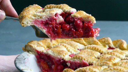 Bakeable from Taste of Home Presents Citrus Cranberry Pie