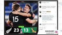 Socialeysed - New Zealand battle past South Africa