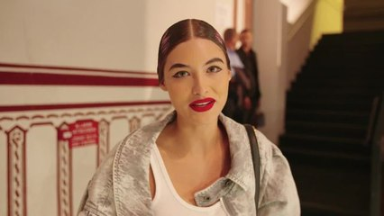 From Morning Meditation to the Moschino Runway: Watch Grace Elizabeth's Pre-Show Routine