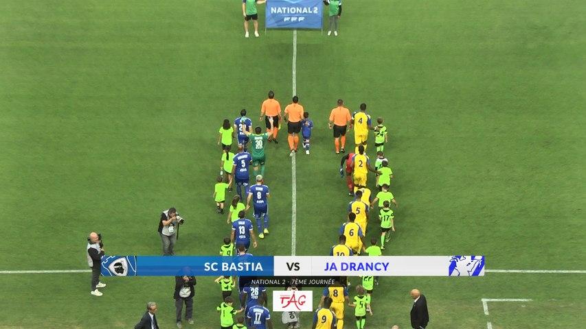 Bastia 4-1 Drancy : Le résumé