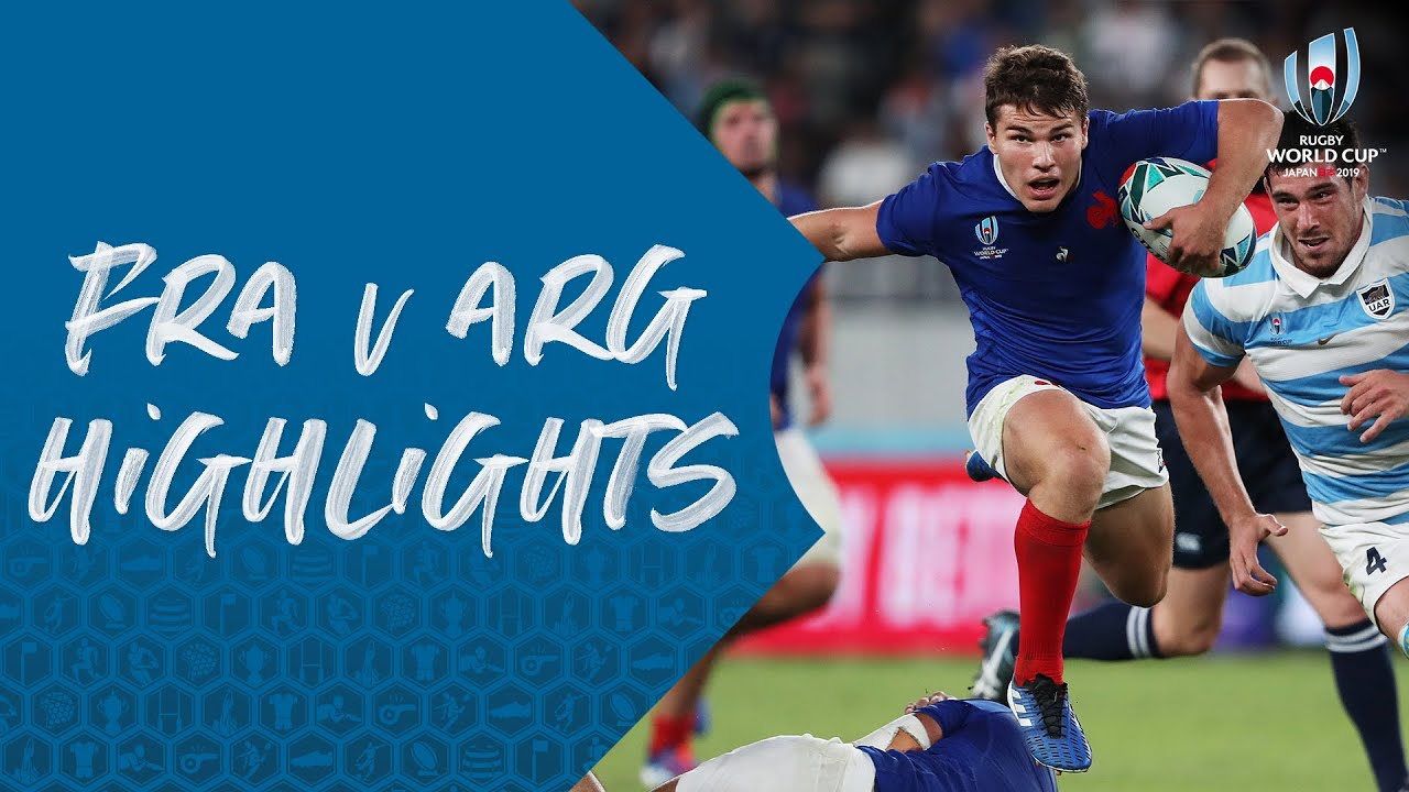 HIGHLIGHTS : France vs Argentina – Rugby World Cup 2019