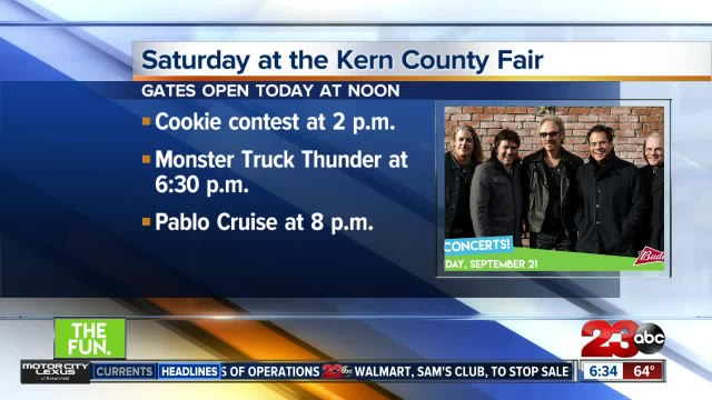 Things to do on your Saturday at the Kern County Fair