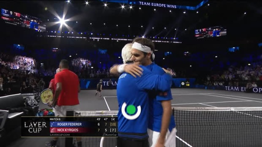 Laver Cup: Day Two Highlights