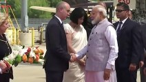 Indian Prime Minister Narendra Modi Lands in Houston Ahead of Howdy Modi Event