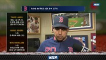 Red Sox Manager Alex Cora Praises Team After Gutsy Extra-Inning Loss