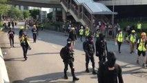 Más enfrentamientos en el decimosexto fin de semana de protestas en Hong Kong