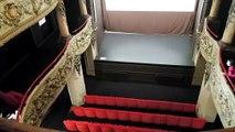 Zoom sur l'ancien théâtre à l'italienne de Neufchâteau dans le cadre des JEP