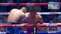 Baez vs Perez - round 4 slugging it out