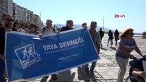 İzmir 'avrupa hareketlilik haftası' yürünerek kutlandı