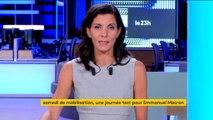 Manifestations : journée test pour Emmanuel Macron
