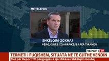 Termeti, Drejtori i Zjarrfikëses për Report Tv: Situata më problematike paraqitet në Kombinat