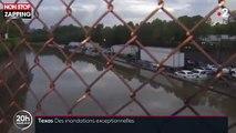 États-Unis : Le Texas sous les eaux après une tempête tropicale (Vidéo)